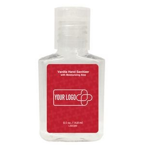 0.5 Oz. Hand Sanitizer Gel Square Bottle